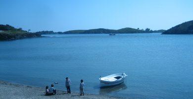 Playa Portlligat en Cadaqués