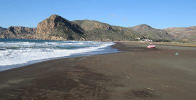 Playa Portmán en La Unión