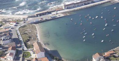 Playa Porto Ancho en Carnota