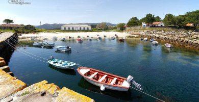Playa Porto Cabanas en Muros