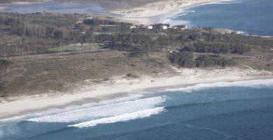 Playa Porto dos Botes en Carnota