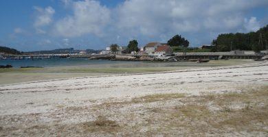 Playa Porto Meloxo en O Grove