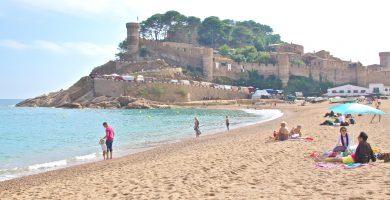 Playa Porto Pí en Tossa de Mar