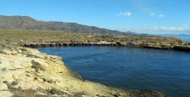 Playa Pozo de Huertas en Águilas