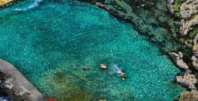 Playa Pozo de las Calcosas en Valverde