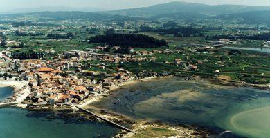 Playa Pradeira en Cambados