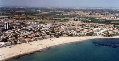 Playa Prat d'En Forés i Regueral en Cambrils