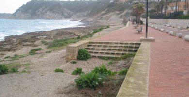 Playa Primera y Segunda Caletas en Jávea
