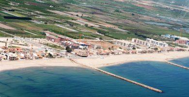 Playa Puçol en Puçol