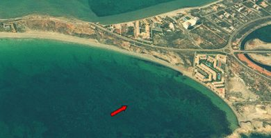 Playa Pudrimel en San Javier