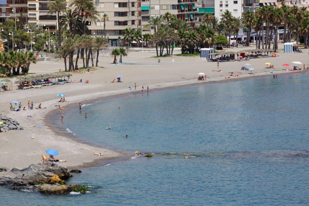 Playa Puerta del Mar en Almuñécar