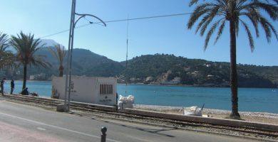 Playa Puerto de Sóller en Sóller