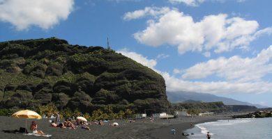 Playa Puerto de Tazacorte en Tazacorte