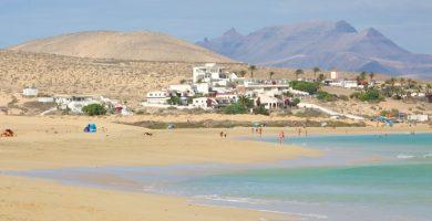 Playa Puerto Escondido en Puerto del Rosario