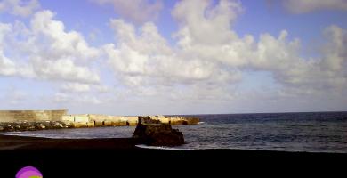 Playa Puerto Espíndola en San Andrés y Sauces
