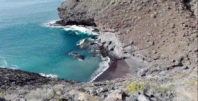 Playa Puerto La Aldea en La Aldea de San Nicolás