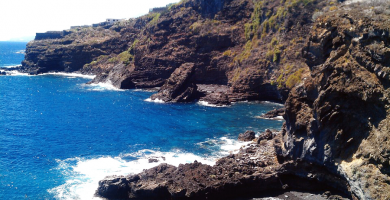 Playa Puerto Trigo en Puntallana