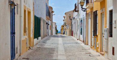 Playa Puerto Viejo (Isla de Tabarca) en Alacant