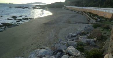 Playa Punta Blanca en La Oliva
