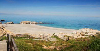 Playa Punta Chullera en Manilva