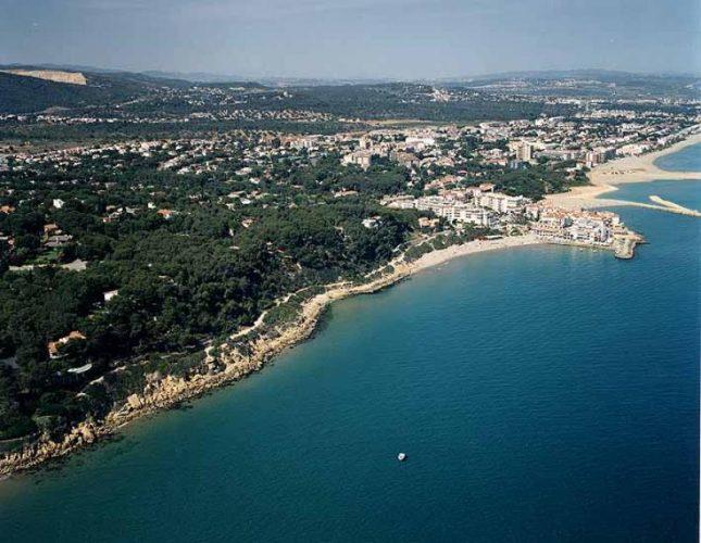 Playa Punta de la Guineu en Roda de Barà