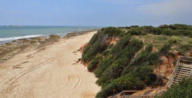 Playa Punta de las Piedras en Chiclana de la Frontera
