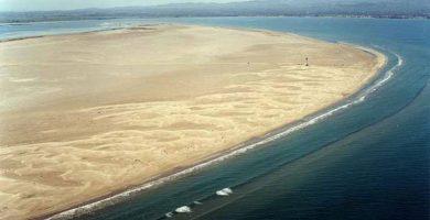 Playa Punta del Fangar en Deltebre