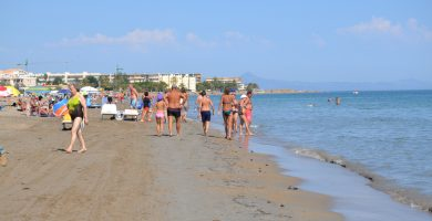 Playa Punta del Raset en Dénia