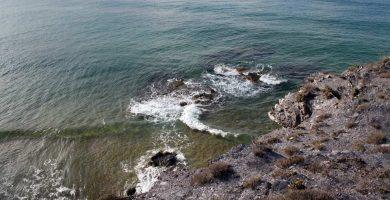 Playa Punta el Bolondo en San Javier