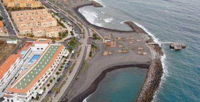 Playa Punta Larga en Fuencaliente de la Palma
