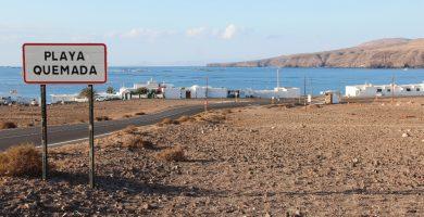 Playa Quemada en Yaiza