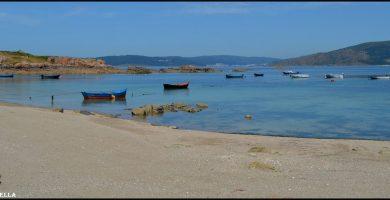 Playa Quilmas en Carnota