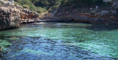 Playa Racó de S'Arena en Llucmajor