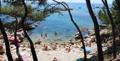 Playa Racó dels Homes en Calonge