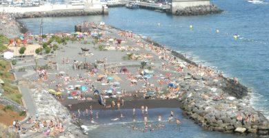 Playa Radazul en El Rosario