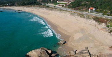 Playa Raeiros en O Grove