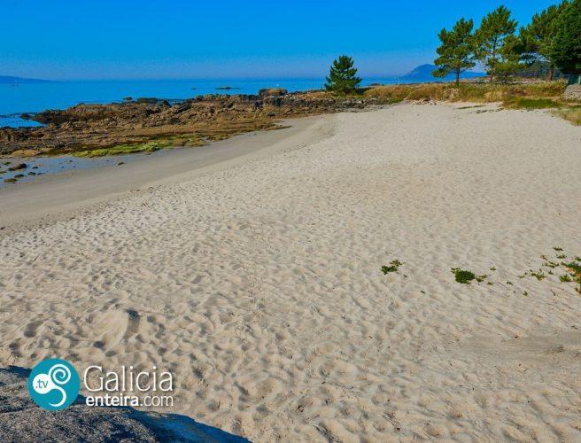 Playa Raimundo en Muros