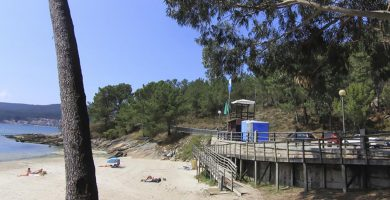 Playa Raxó en Poio