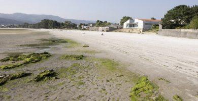 Playa Rebordelo en Cabana de Bergantiños