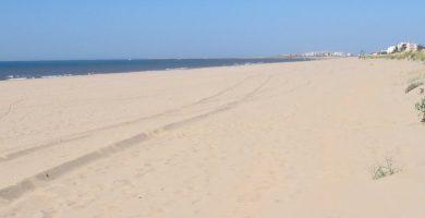 Playa Redondela en Isla Cristina