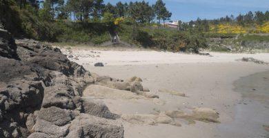 Playa Restrelo en Fisterra