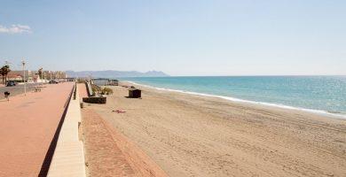 Playa Retamar en Almería