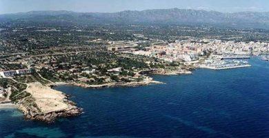 Playa Ribes Altes en L'Ametlla de Mar