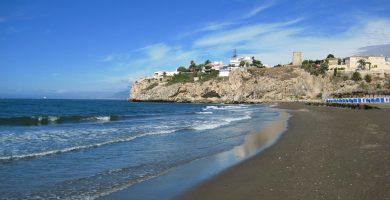 Playa Rincón de la Victoria en Rincón de la Victoria
