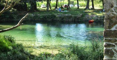 Playa Río Tamuxe en O Rosal
