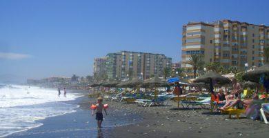 Playa Río Torrox en Torrox