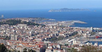 Playa Ríos de dentro en Vigo