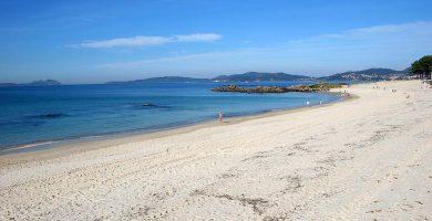 Playa Ríos de Fora en Vigo