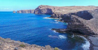 Playa Risco Partido en Gáldar