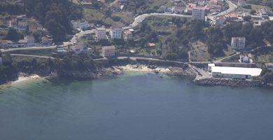 Playa Robaleira Pequena en Bueu